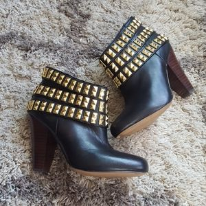 Betsey Johnson Concertt studded booties